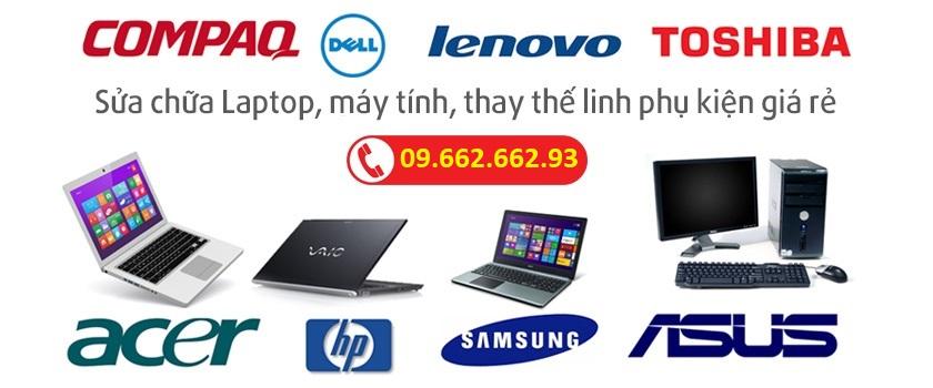 Dịch vụ sửa laptop cũ tại Quảng Ninh